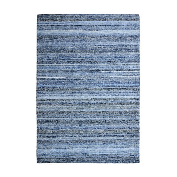 Vlněný koberec Deniza Blue, 120x180 cm
