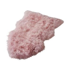 Růžový koberec z novozélandské ovčí kožešiny Native Sheep