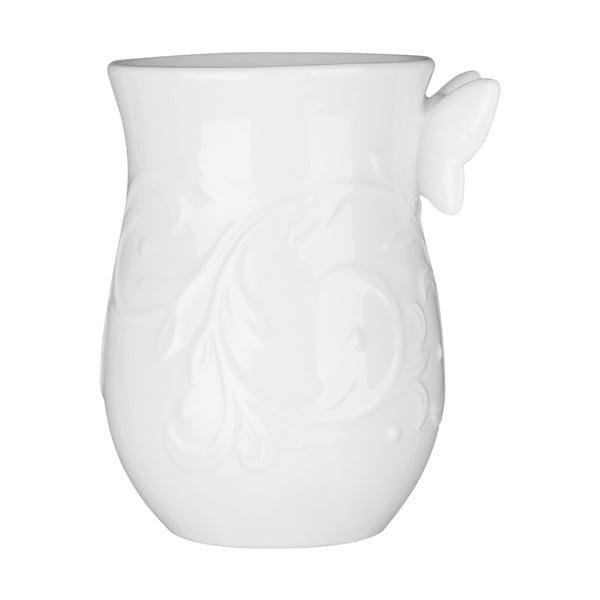 Bílý porcelánový kelímek Premier Housewares, 350 ml