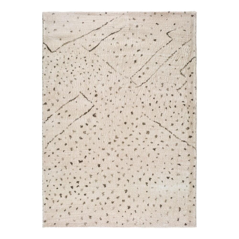 Krémový koberec Universal Moana Dots, 60 x 110 cm