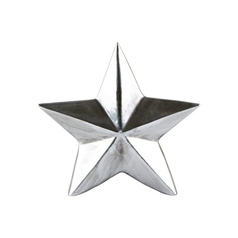 Dekorativní soška KJ Collection Star Silver, 14 cm