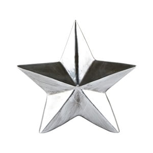 Dekorativní soška KJ Collection Star Silver, 14 cm