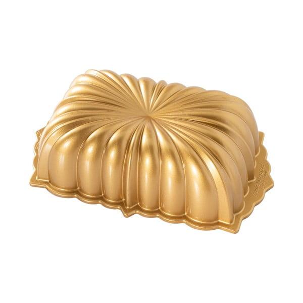 Forma do ciasta w złotym kolorze Nordic Ware Classic, 1,4 l