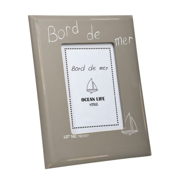 Fotorámeček Bord de mer Grey, 22x27 cm
