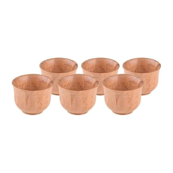 Zestaw 6 bambusowych kubeczków Bambum Tido