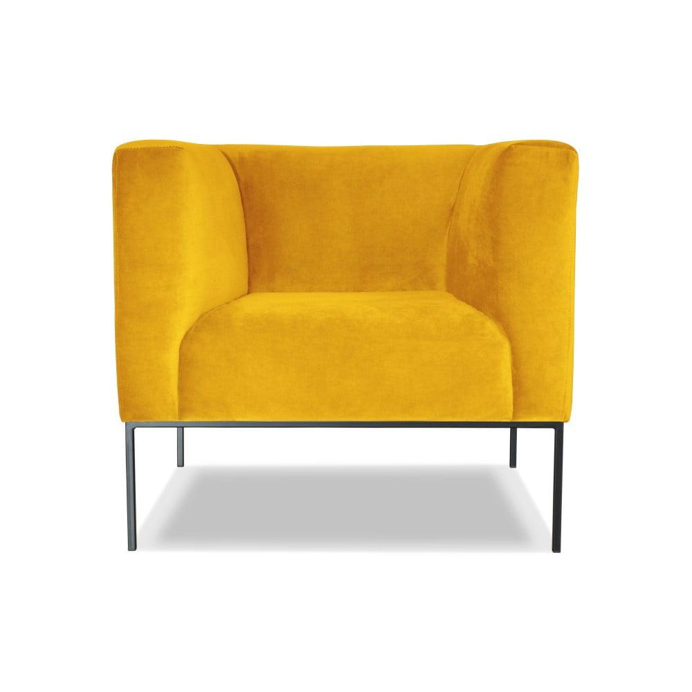 Žluté křeslo Windsor & Co. Sofas Neptune