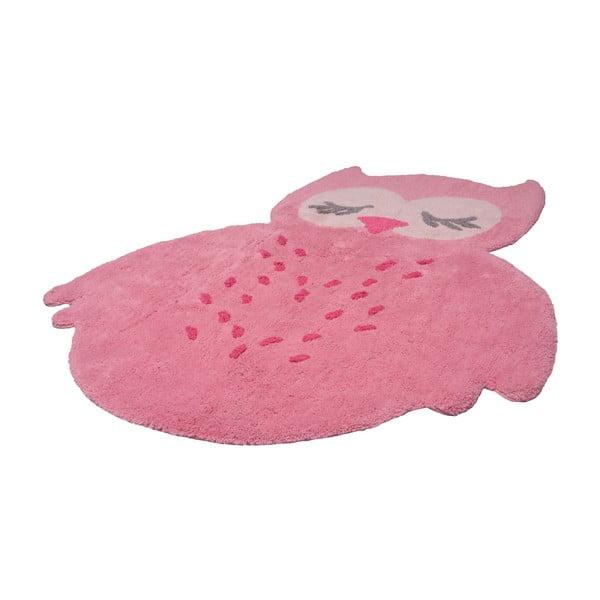 Dětský růžový koberec Nattiot Sweet Pepa, 95x120cm