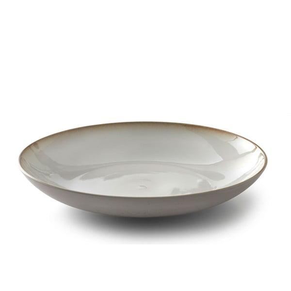 Krémová kameninová servírovací mísa Bitz Basics Cream, ⌀ 40 cm