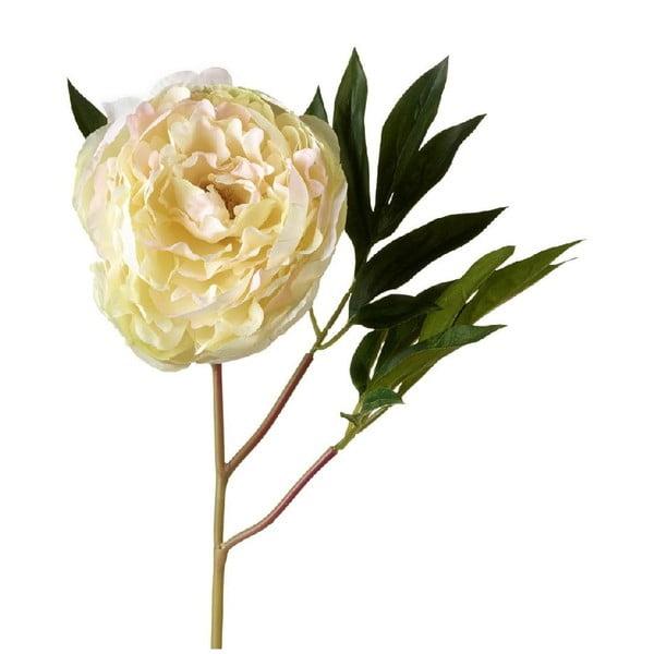 Umělá květina Peony Cream