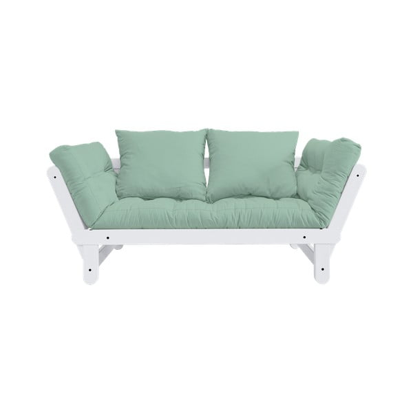 Canapea variabilă Karup Design Beat White/Mint