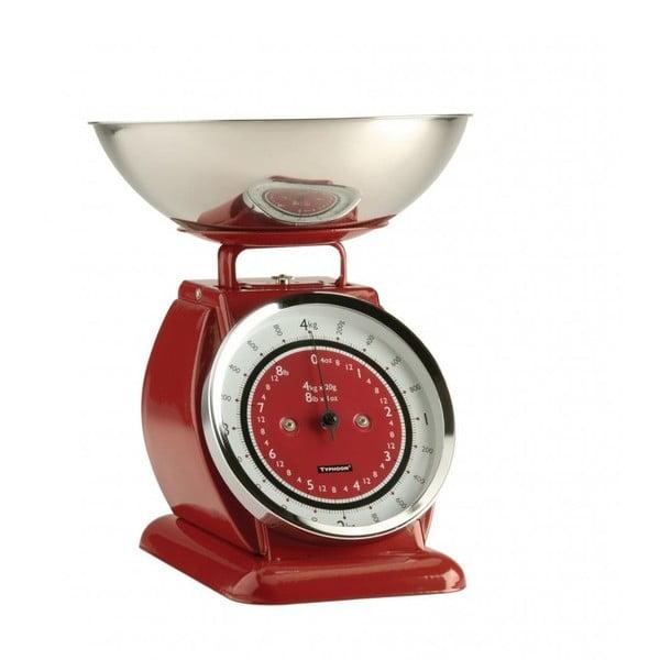 Červená kuchyňská váha Typhoon Bella Scales