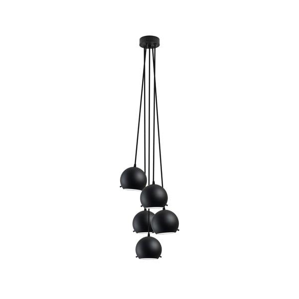 Černé matné stropní svítidlo Sotto Luce MYOO Elementary 5BS Matte