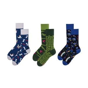 Set ponožek v dárkovém balení Many Mornings Don't Be Blue, vel.39–42