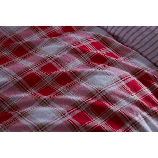 Povlečení Tartan Red, 135x200 cm
