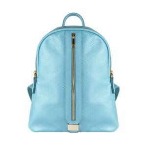 Světle modrý kožený batoh Maison Bag Lisa