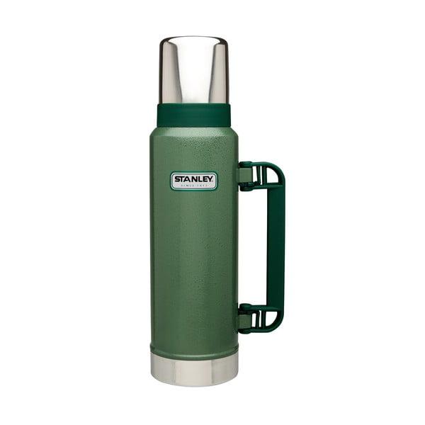 Zelená termoska Stanley Classic,1,3l