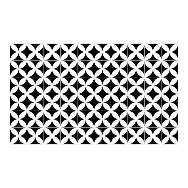 Zestaw 60 dekoracyjnych naklejek ściennych Ambiance Aniello, 10x10 cm