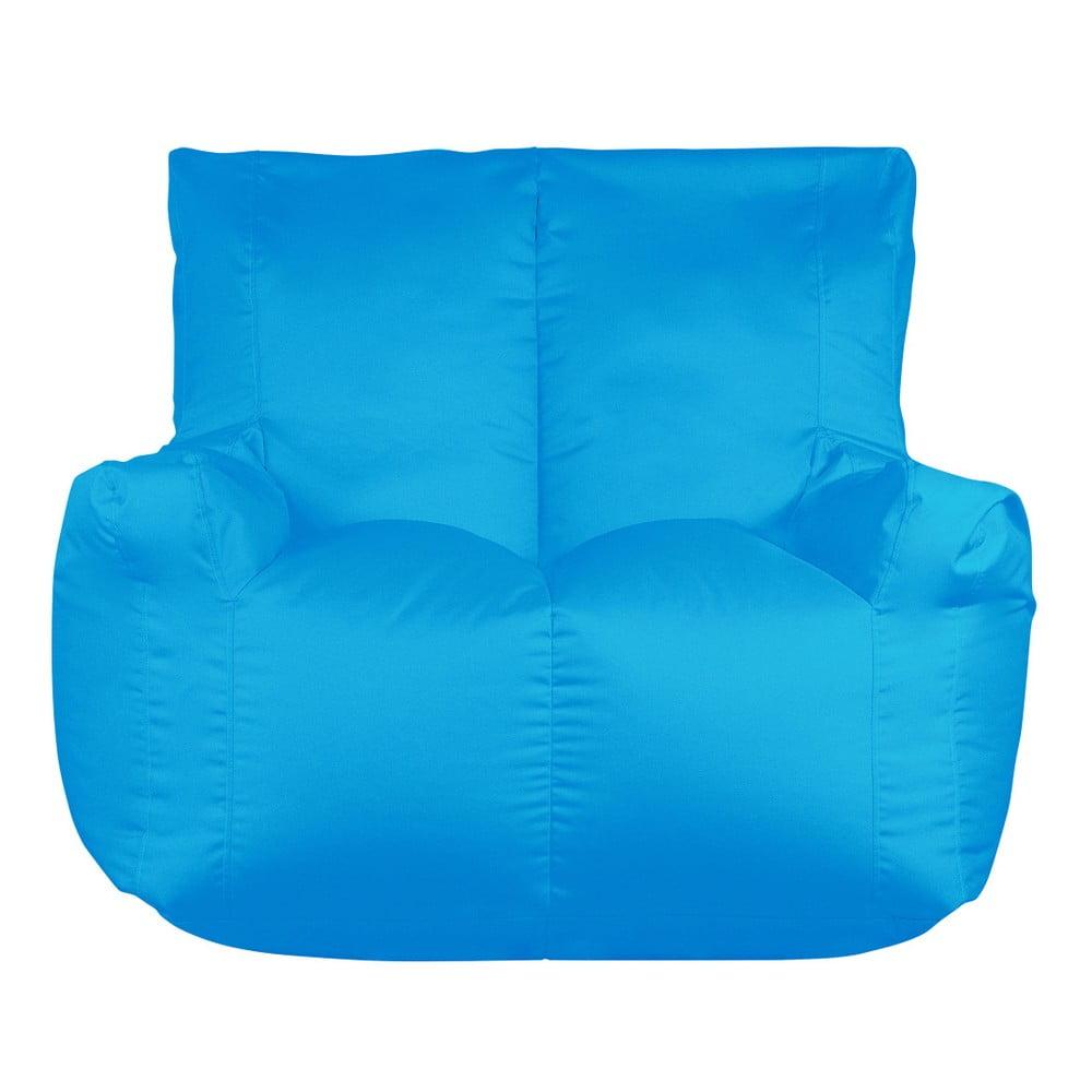 Tyrkysový sedací vak pro dva Sit and Chill Coron