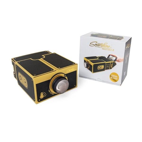 Smartphone projektor Gold