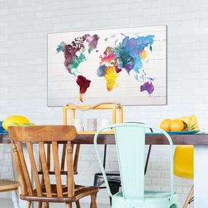 Obraz na plátně OrangeWallz World, 70 x 118 cm