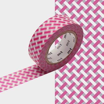 Bandă decorativă Washi MT Masking Tape Jeanne, rolă 10 m imagine