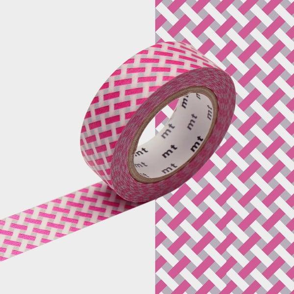 Bandă decorativă Washi MT Masking Tape Jeanne, rolă 10 m