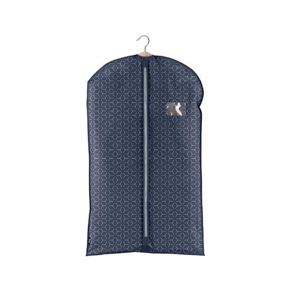 Tmavě modrý obal na oblek Domopak Metrik