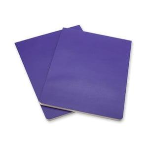 Sada 2 fialových bloků Moleskine Volant
