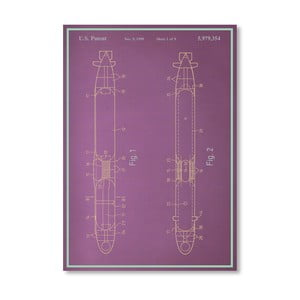 Plakát Submarine, 30x42 cm