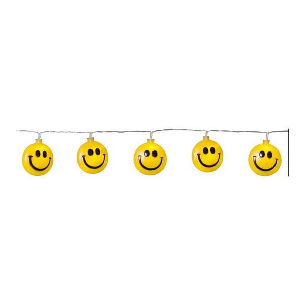 Světelný LED řetěz Best Season Happy Lightchain, 8 světýlek