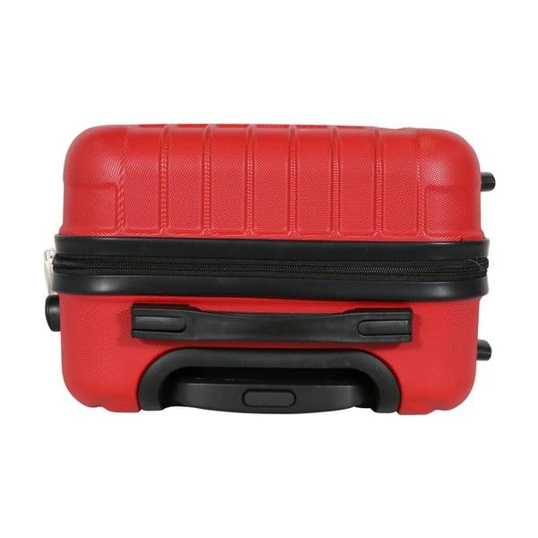 Sada 3 červených cestovních kufrů LULU CASTAGNETTE Philip