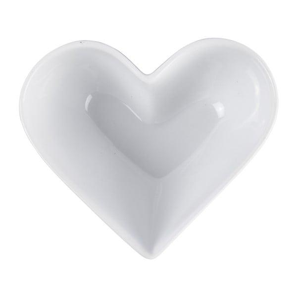 Malá zapékací a servírovací mísa KJ Collection Heart, 250ml