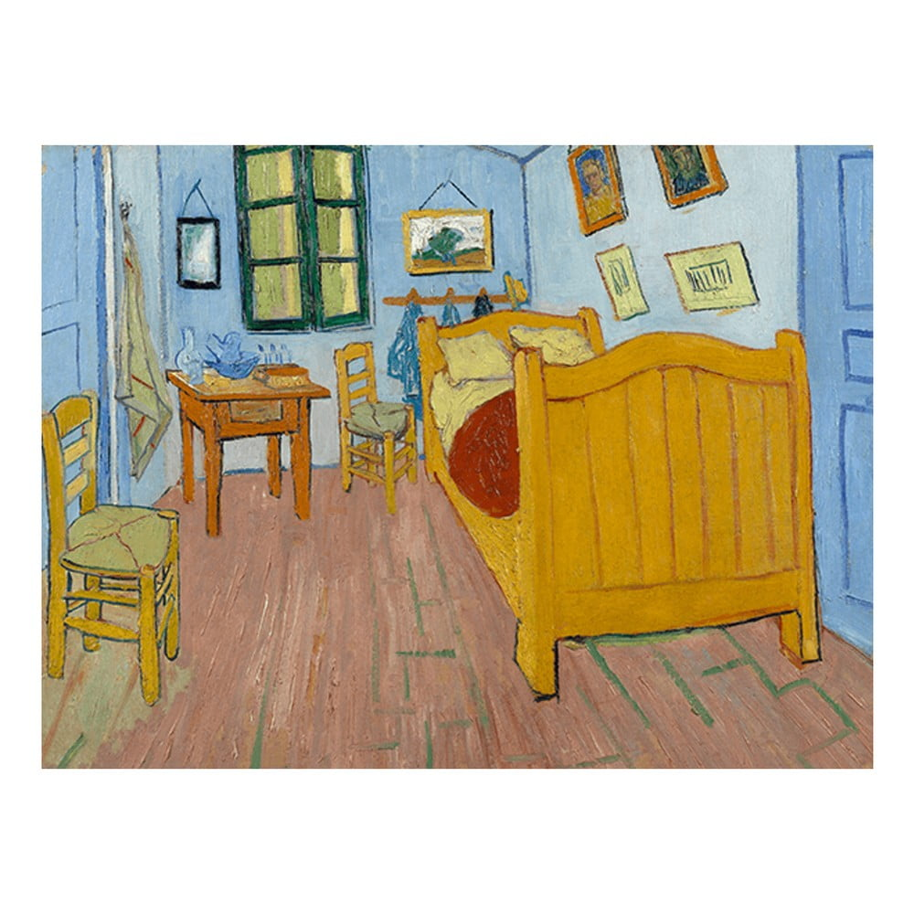 Reprodukce obrazu Vincenta van Gogha - The Bedroom 40 x 30 cm