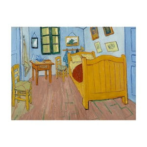 Tablou Vincent van Gogh - The Bedroom, 40x30 cm