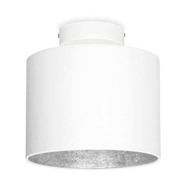 MIKA Elementary XS CP fehér mennyezeti lámpa, ezüstszínű részletekkel - Sotto Luce