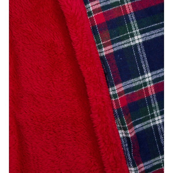 Přehoz Pompon Scotch 130x170 cm, modrý