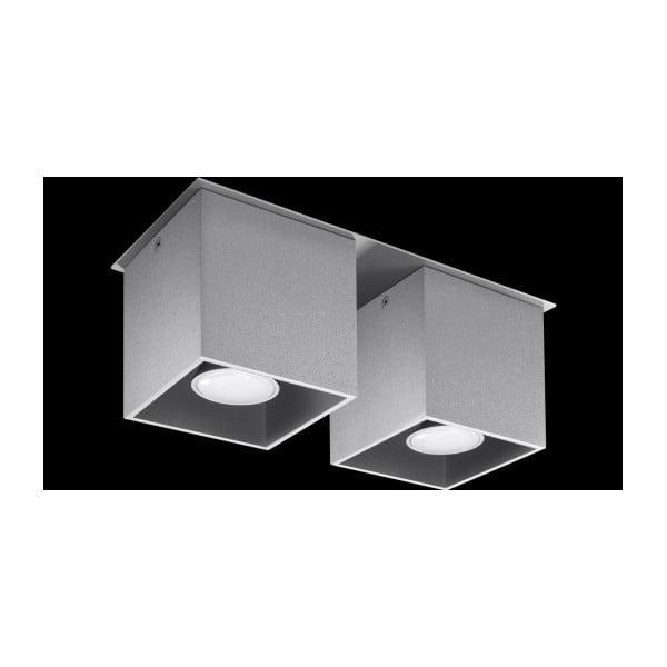 Šedé stropní světlo Nice Lamps Geo2