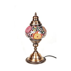 Skleněná lampa Homemania Oriental Sun, ⌀13cm