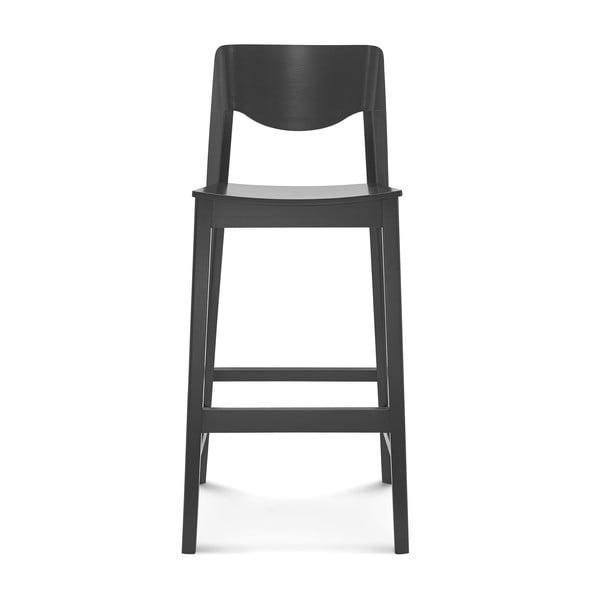 Scaun de lemn pentru bar Fameg Ingred, negru
