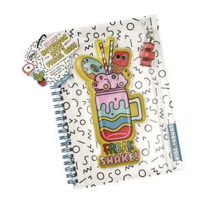 Zápisník s úložným prostorem na psací potřeby NPW Vibe Squad