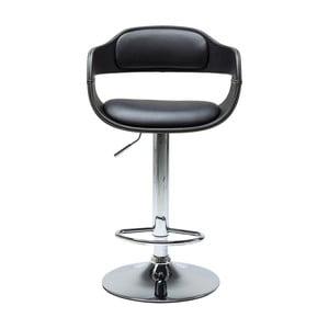 Černá barová stolička Kare Design Costa
