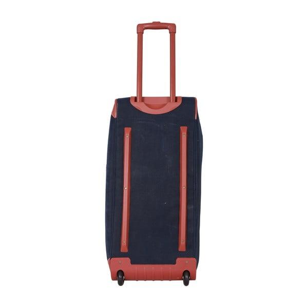 Cestovní taška na kolečkách Jean Louis Scherrer Black, 76.5 l
