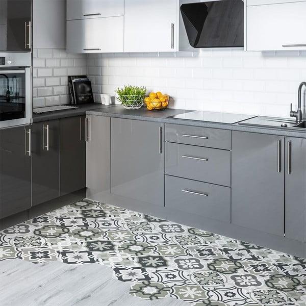 Set 10 autocolante impermeabile pentru podea Ambiance Chopita, 20 x 18 cm