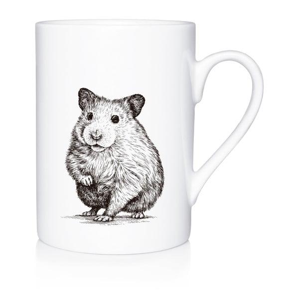 Porcelánový hrnek We Love Home Curious Mouse, 300 ml