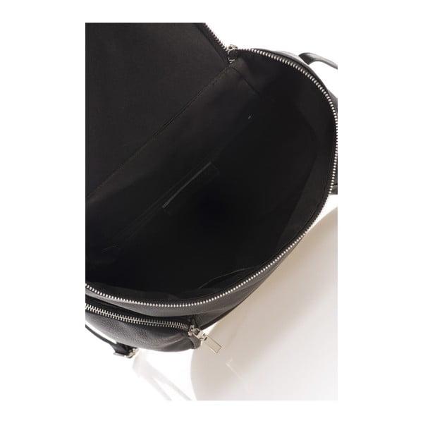 Rucsac din piele Lisa Minardi Mardi, negru