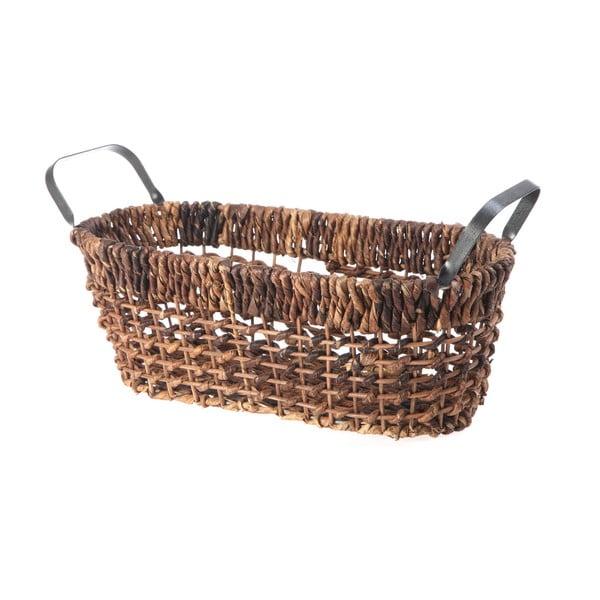 Proutěný košík Oval Wicker, 37 cm