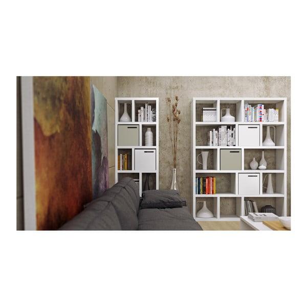 Bibliotecă TemaHome Berlin 150 x 198 cm, alb