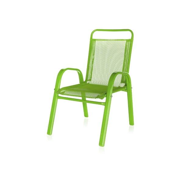 Dětská zahradní židle Kids, zelená
