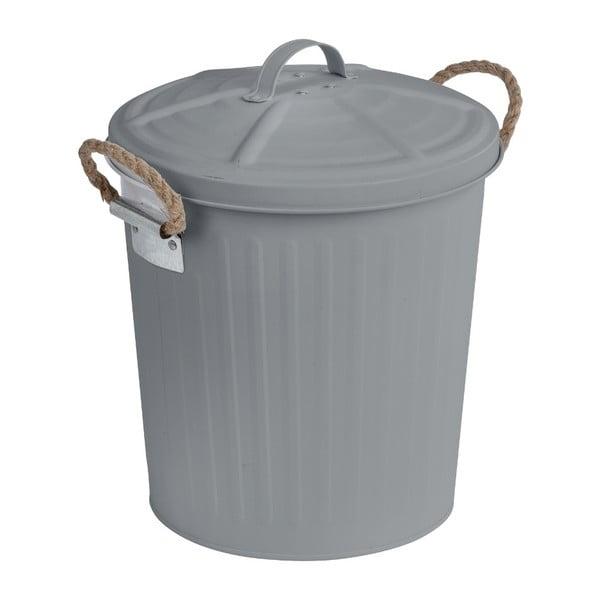 Sivý odpadkový antikoro kôš Wenko