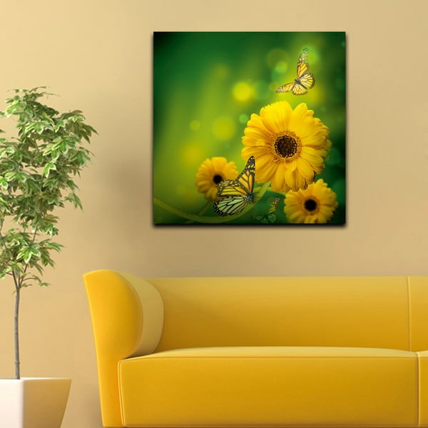 Obraz Květinový den, 60x60 cm